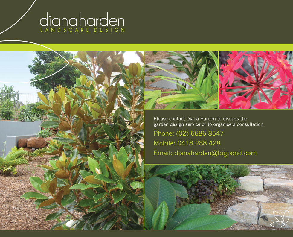Diana Harden Landscape Design Contact - Tweed and Northern rivers